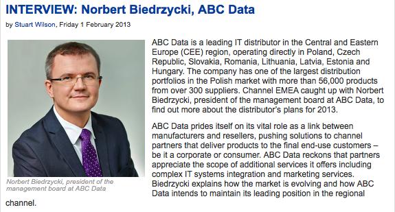 Norbert Biedrzycki - it distribution