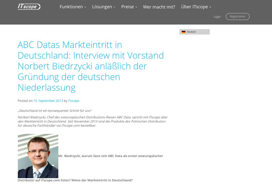 ITScope ABC Data Norbert Biedrzycki