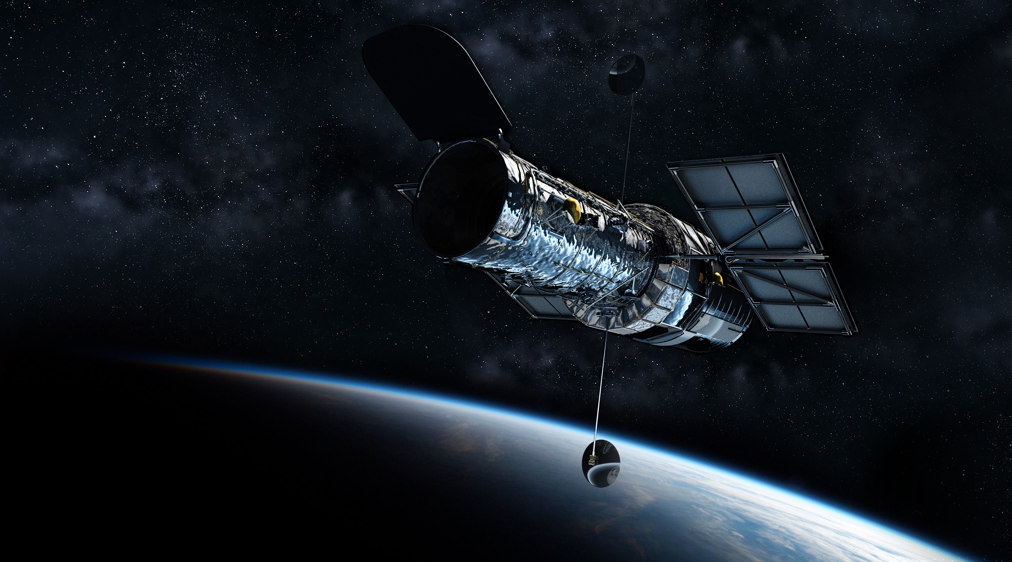 Norbert Biedrzycki kosmos satelita