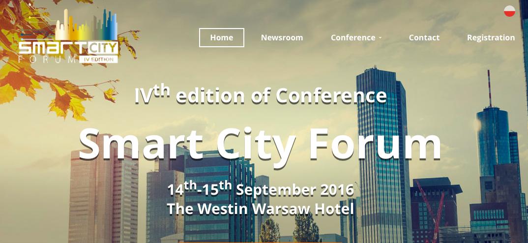 Norbert Biedrzycki SmartCity Forum