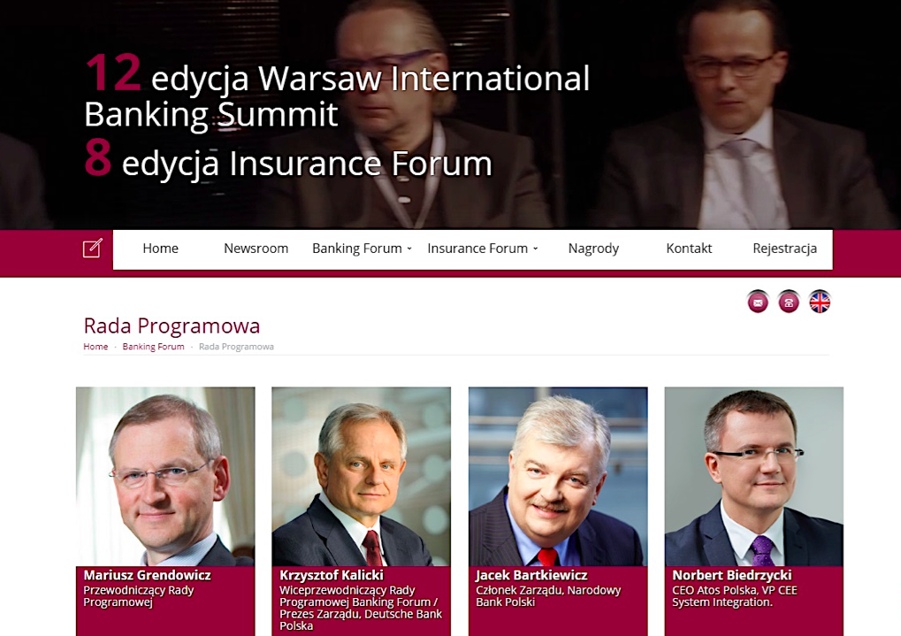 Banking and insurance Forum 2016