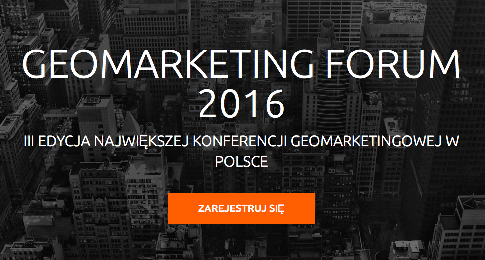 Geomarketing Forum 2016