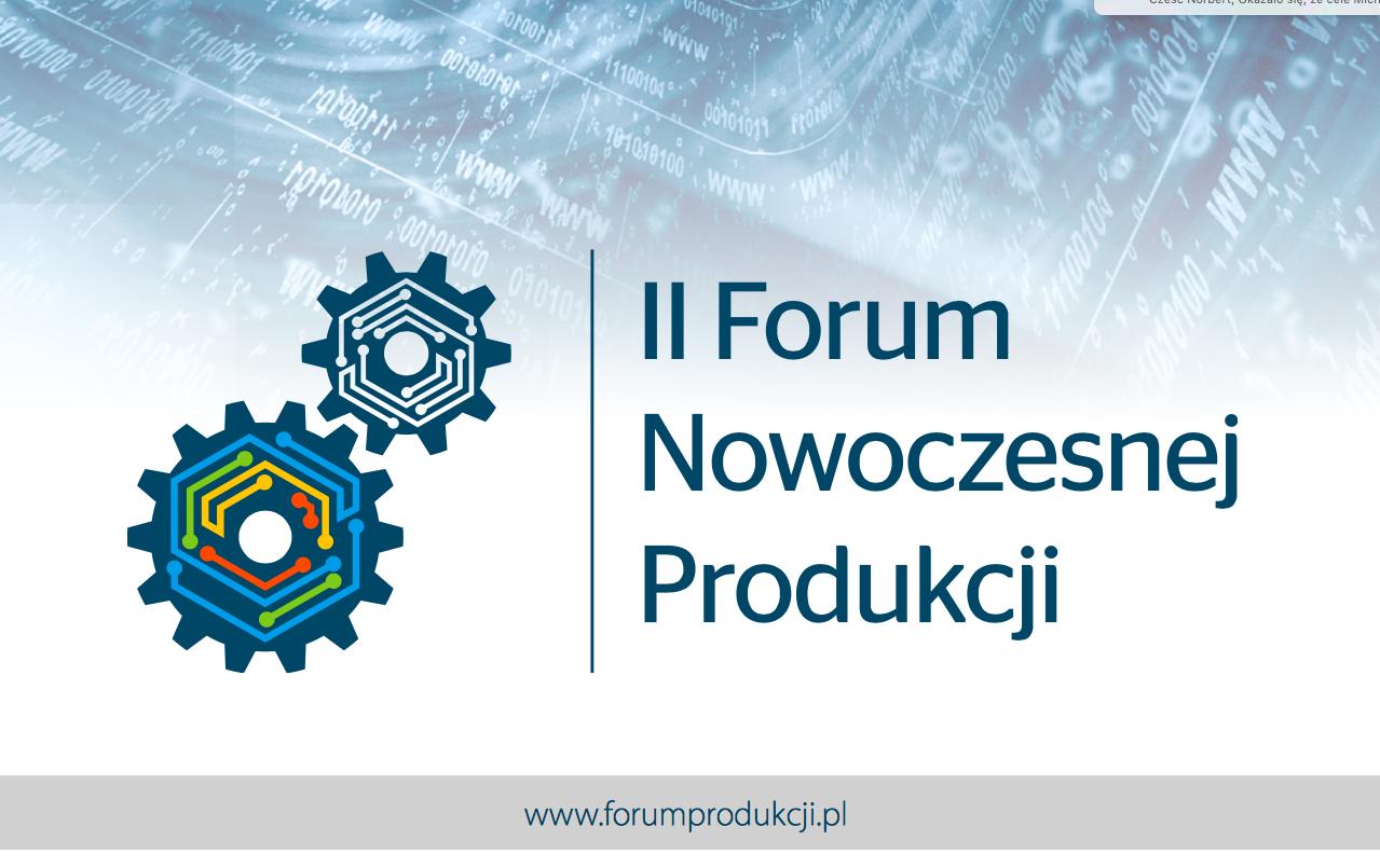 2016-Nov-09 II Forum nowoczesnej produkcji