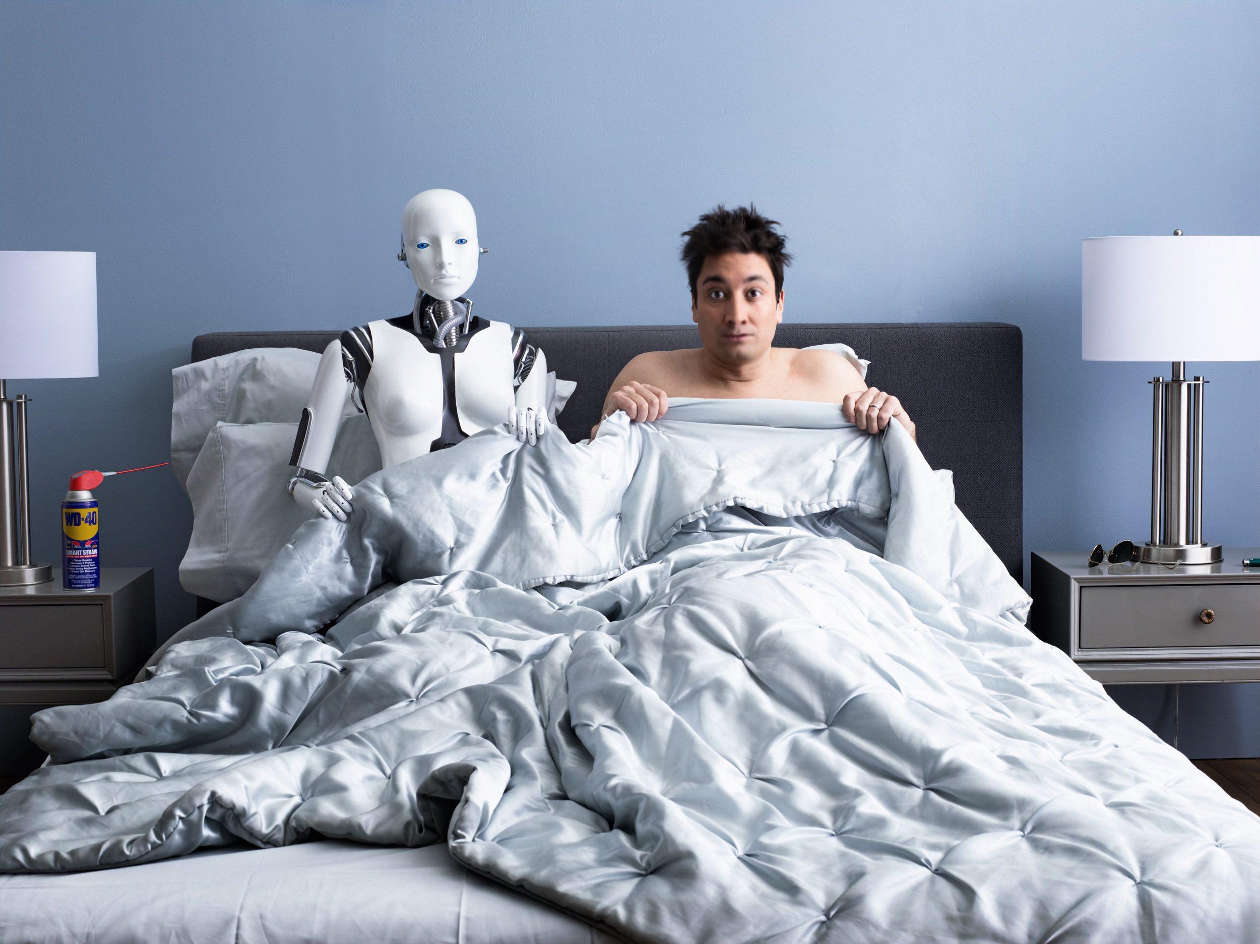 AI 2017 human robot marriage relation