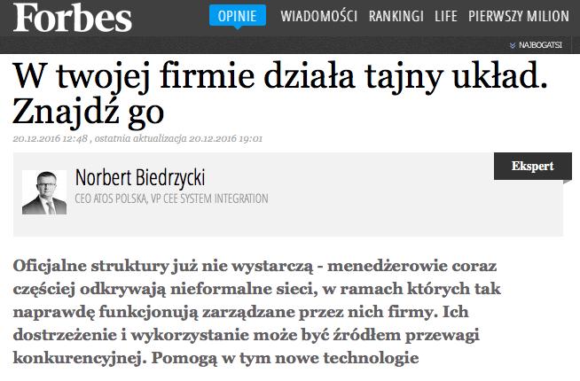 Norbert Biedrzycki hidden social network
