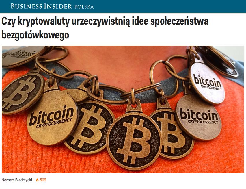 Norbert Biedrzycki Kryptowaluty spoleczenstwo bezgotowkowe