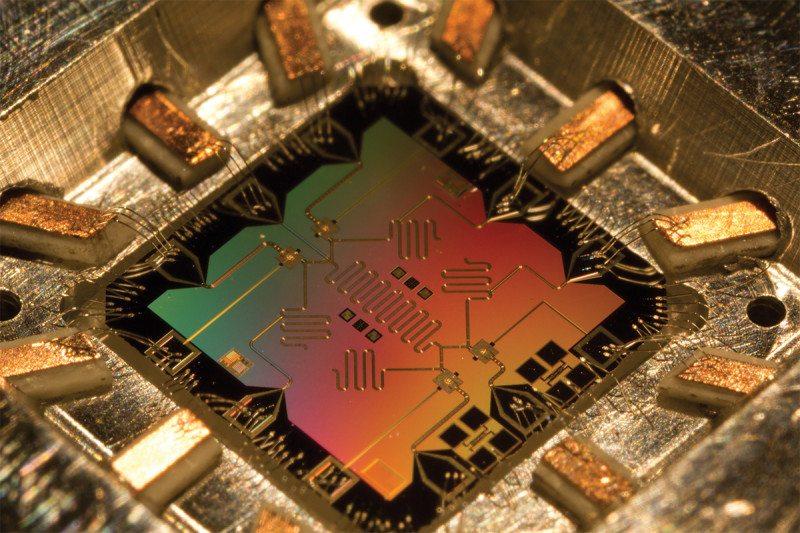Pic 1 Quantum computer processor qubit