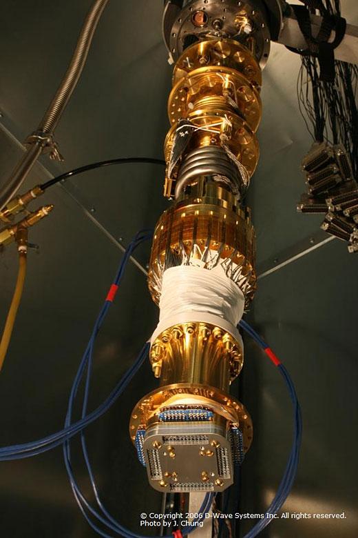 Pic 3 Quantum computer cooling