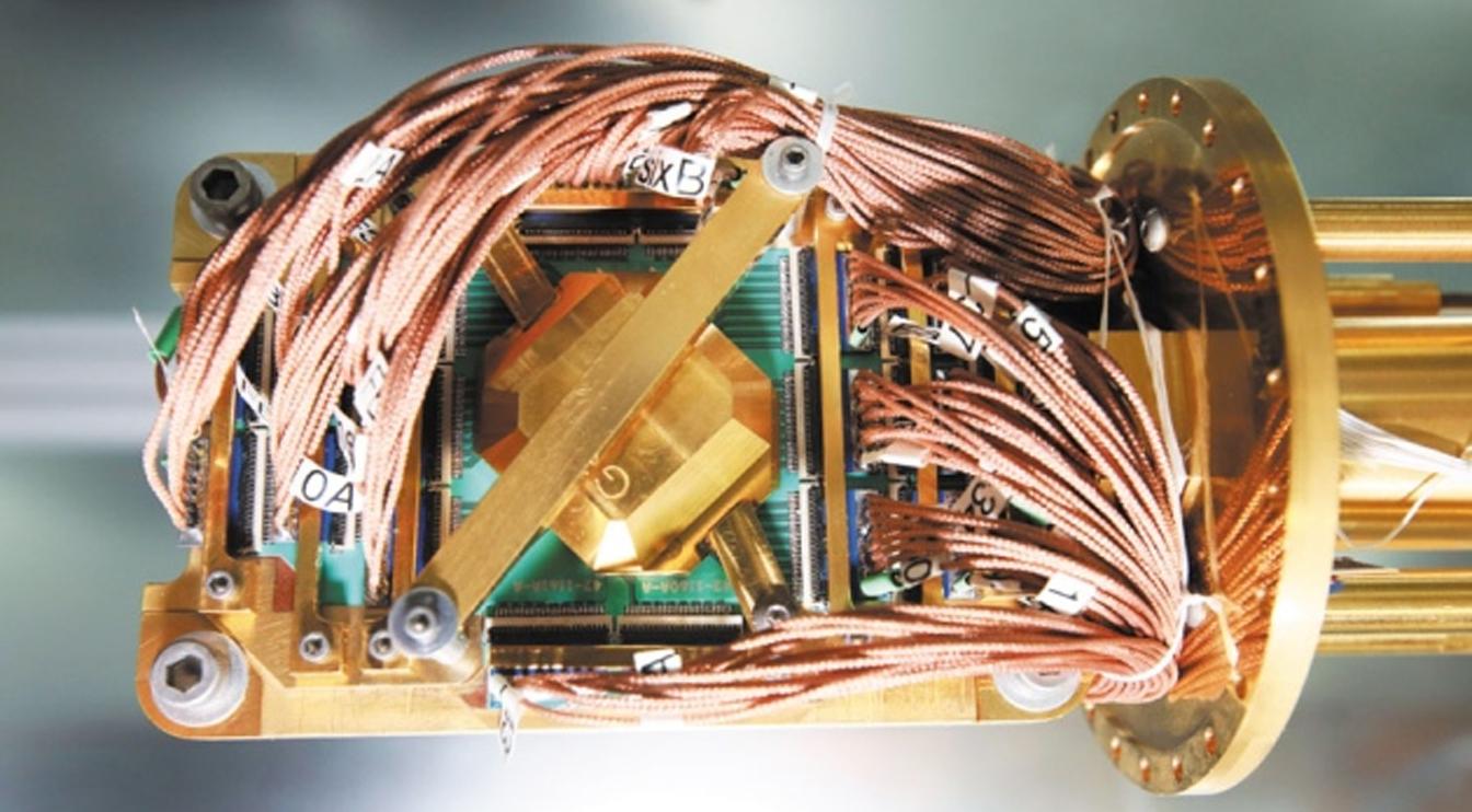 Pic 4 Quantum computer processor mounted
