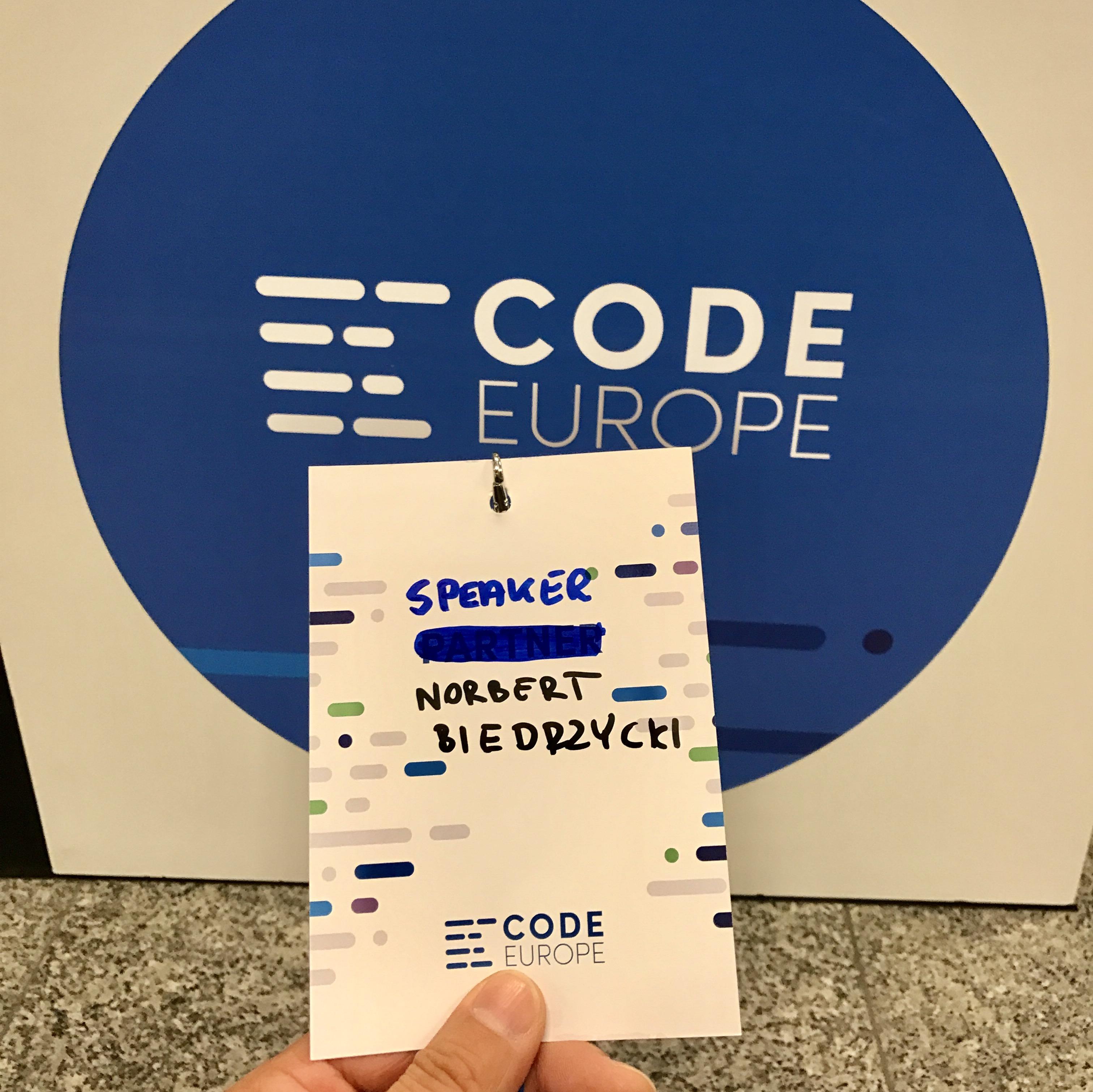 Pic_2 code europe 2017 Norbert Biedrzycki