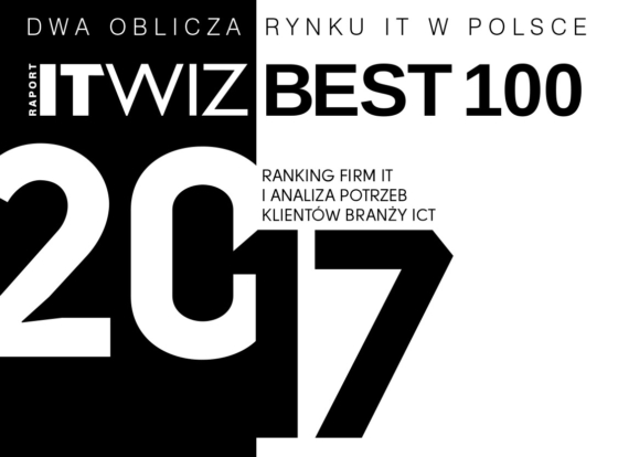 ITWiz Best100 IT companies 2016