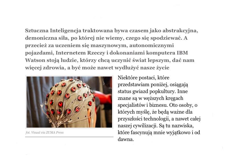 Norbert Biedrzycki Zywe mozgi sztuczna inteligencja