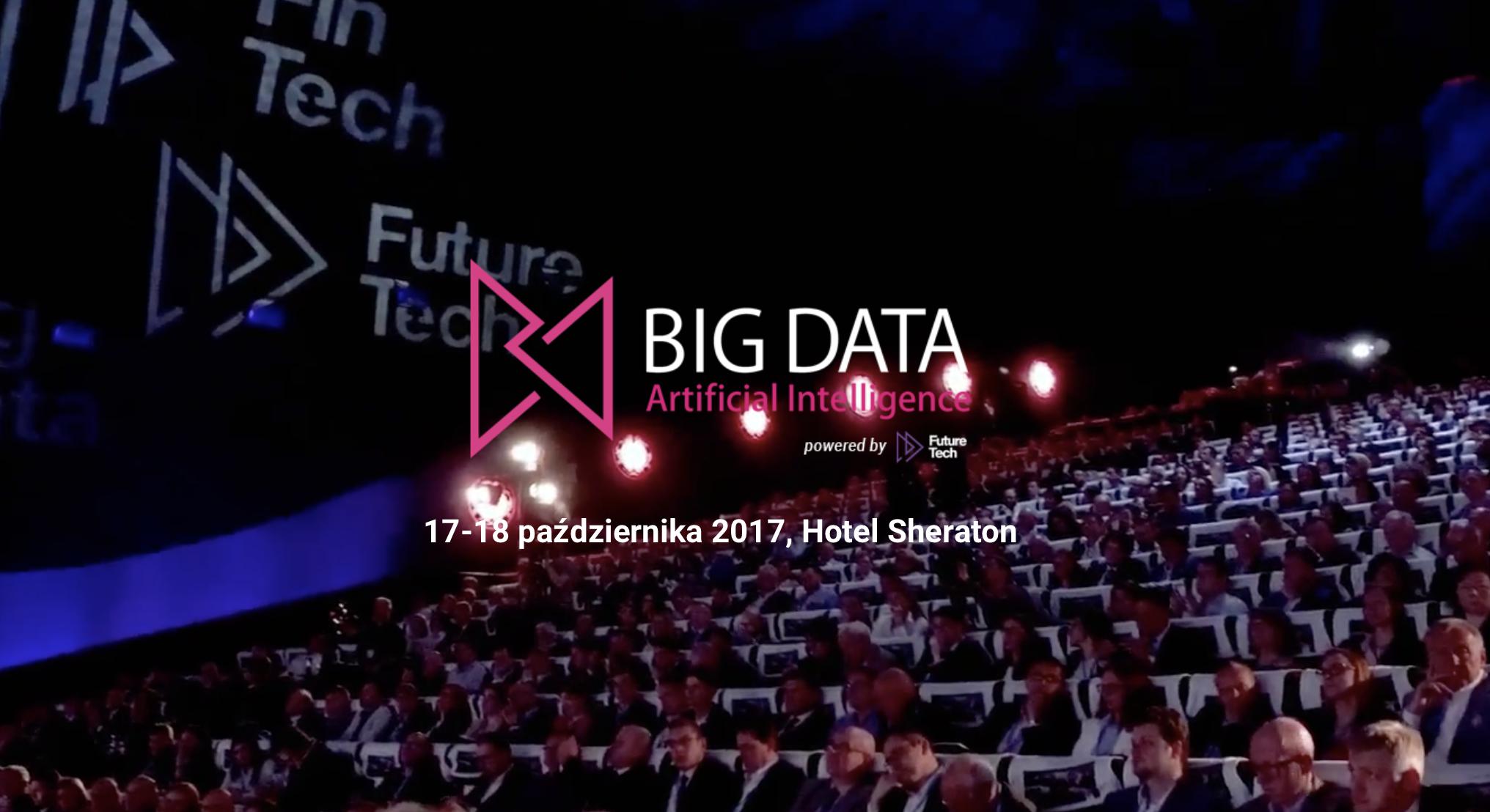 BigData AI conference Norbert Biedrzycki