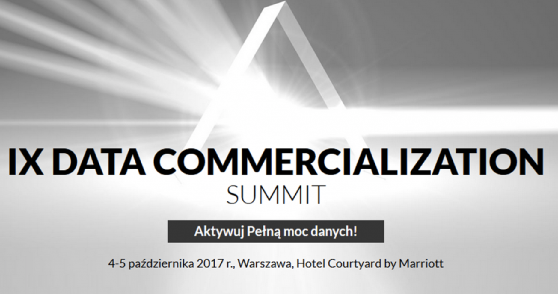 Data commercialization summit