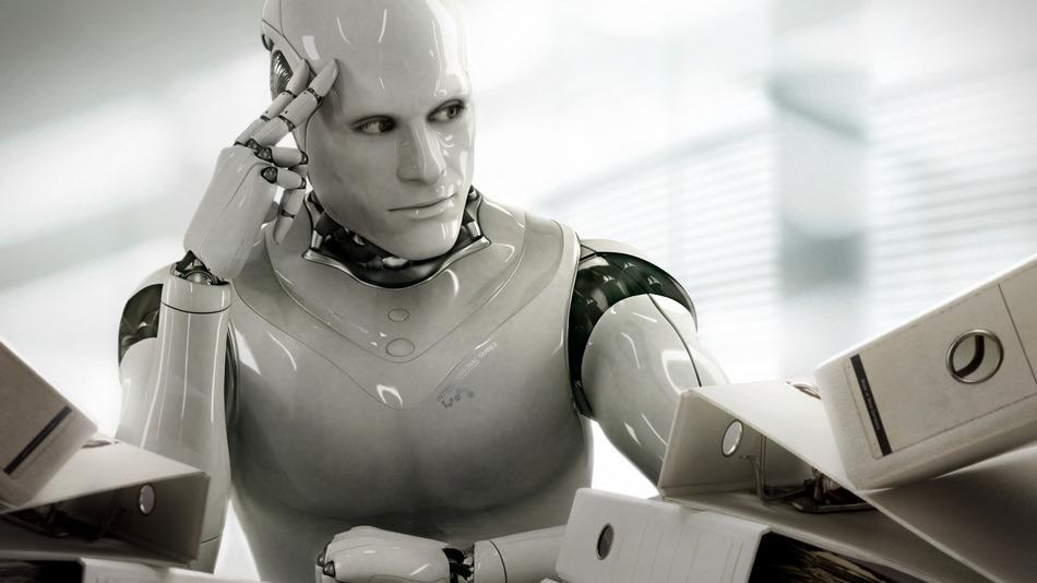 Robots awaiting judges Norbert Biedrzycki