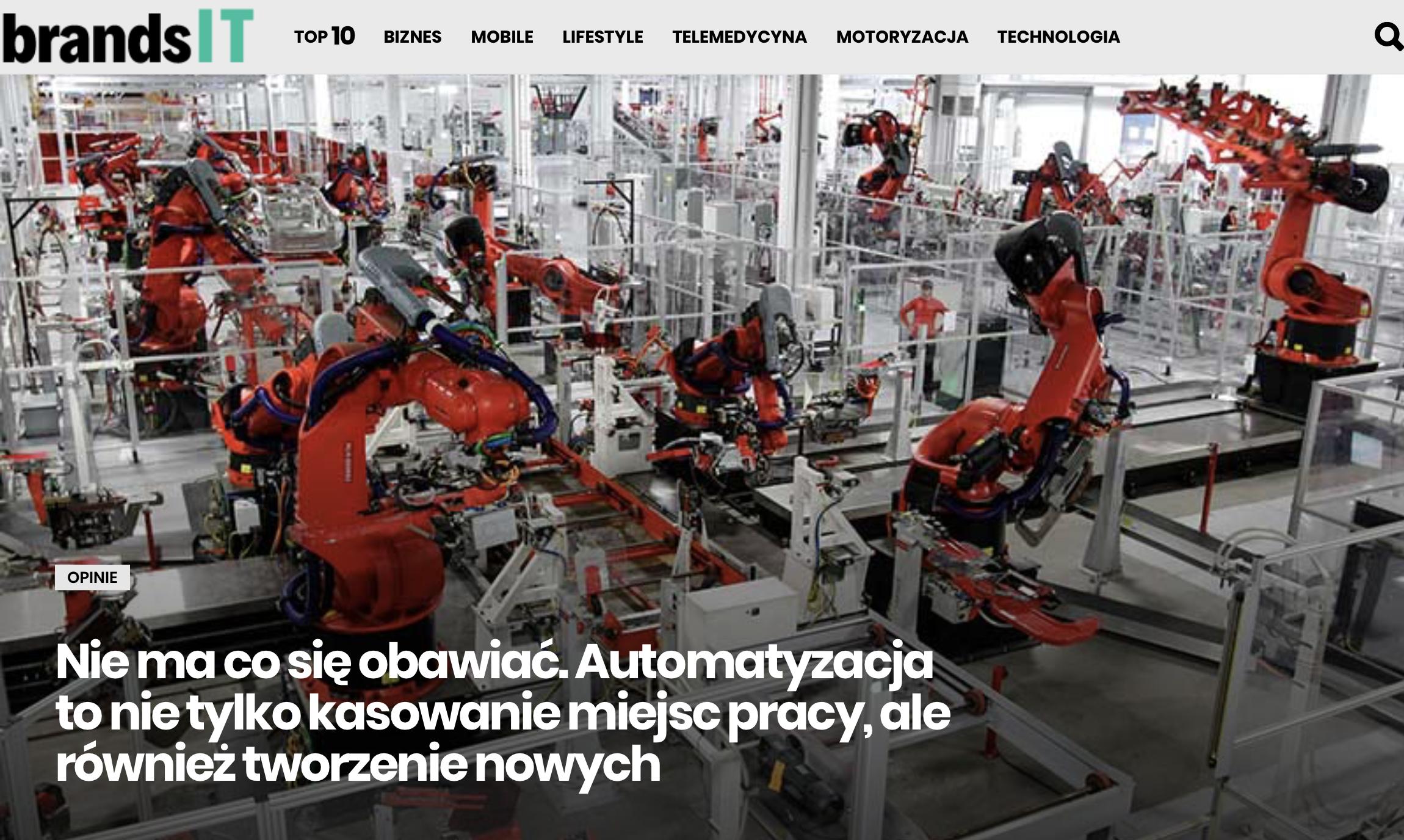 BrandsIT - Nie ma co sie obawiac Norbert Biedrzycki