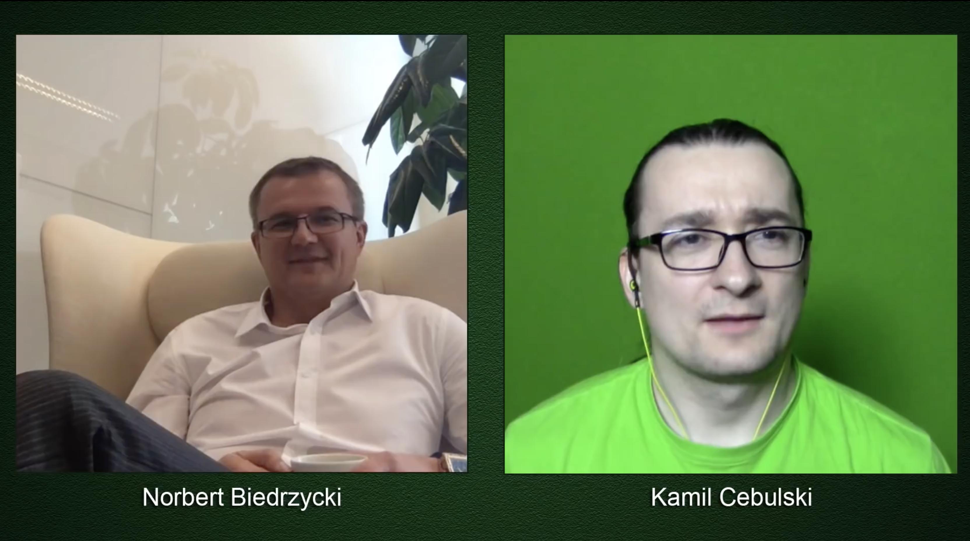 Youtube - Norbert Biedrzycki and Kamil Cebulski