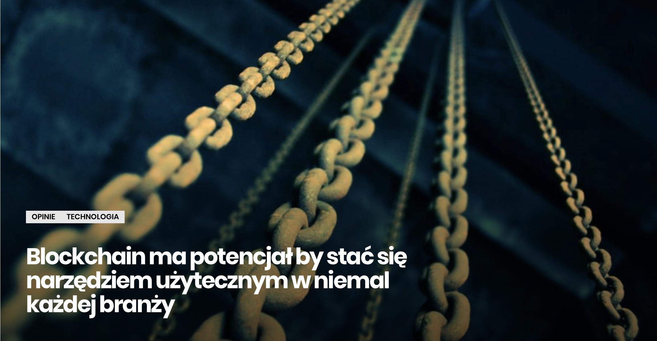 BrandsIT - Blockchain ma potencjał Norbert Biedrzycki pic1