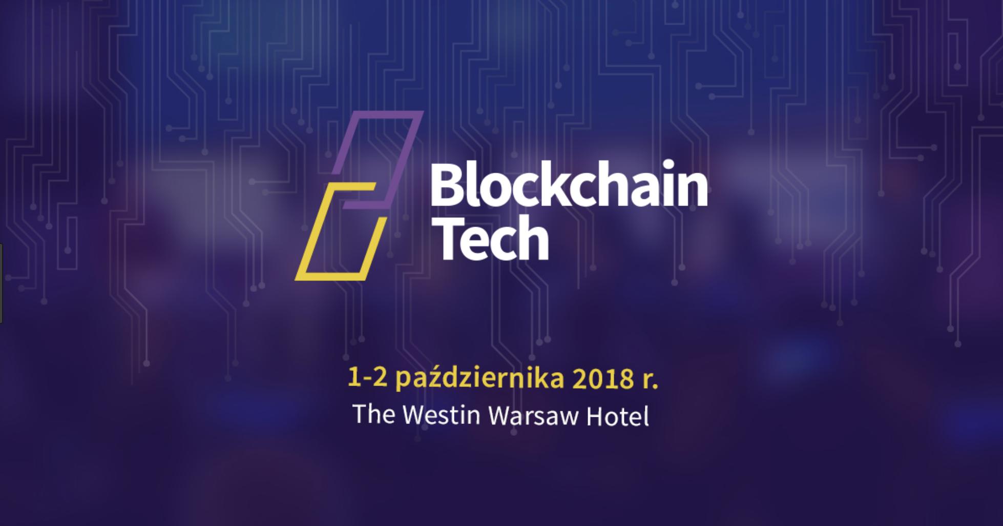 BlockchainTech II conference Norbert Biedrzycki