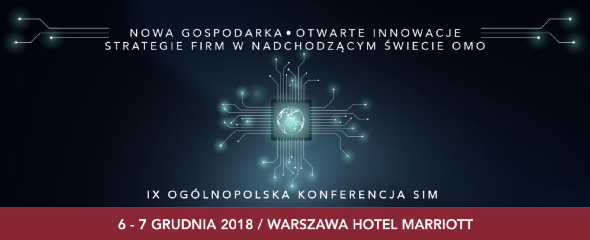 Konferencja SIM Norbert Biedrzycki