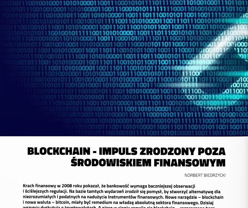 BrandsIT Norbert Biedrzycki Blockchain 1