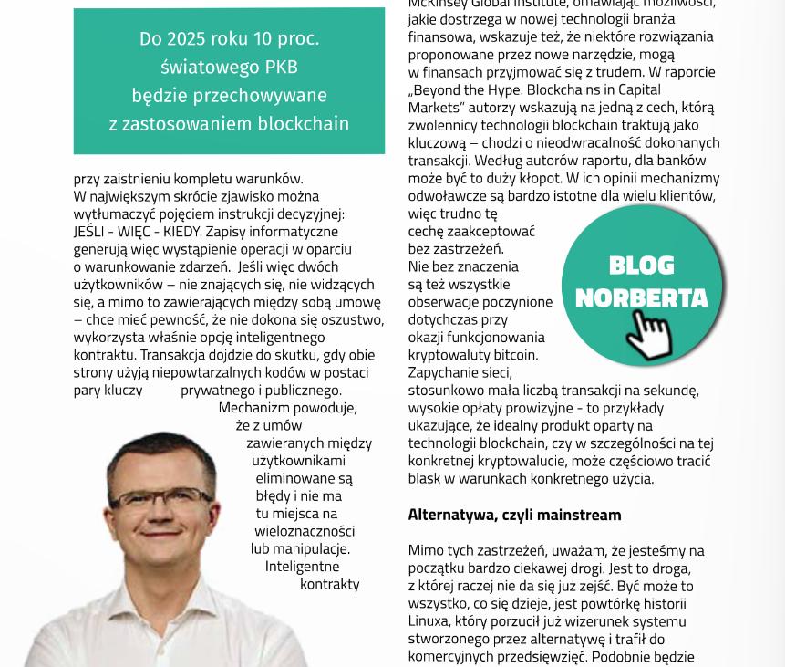 BrandsIT Norbert Biedrzycki Blockchain 3